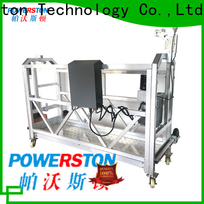Powerston working swing stage platform supply for construction inspection and maintenance