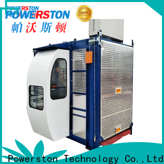 Powerston hoist construction elevator manufacturers suppliers for construction inspection and maintenance