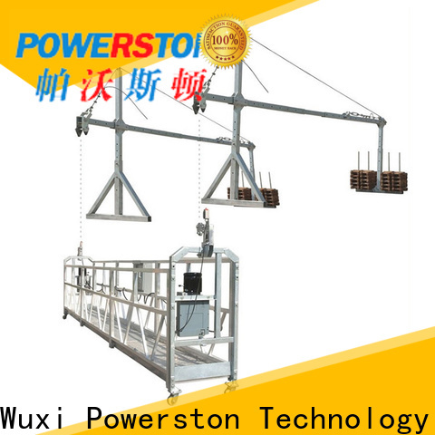 Powerston custom motorized scaffolding system suppliers for high-rise building