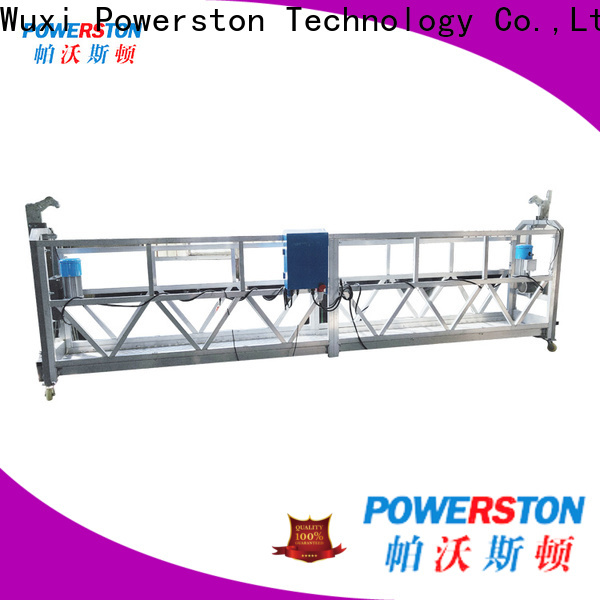 Powerston wholesale suspended platform hoist suppliers for construction inspection and maintenance