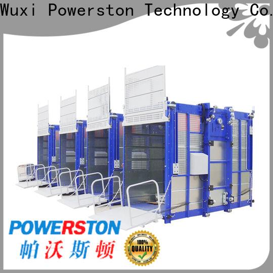 Powerston wholesale construction hoist factory for bridge construction