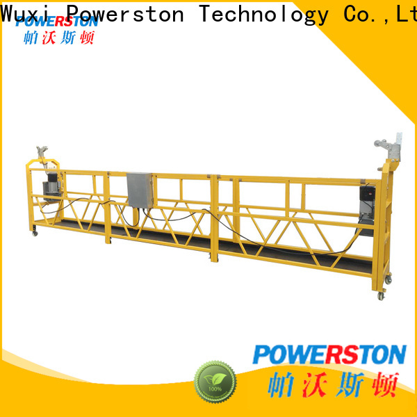 Powerston electric plastering platform suppliers for construction inspection and maintenance