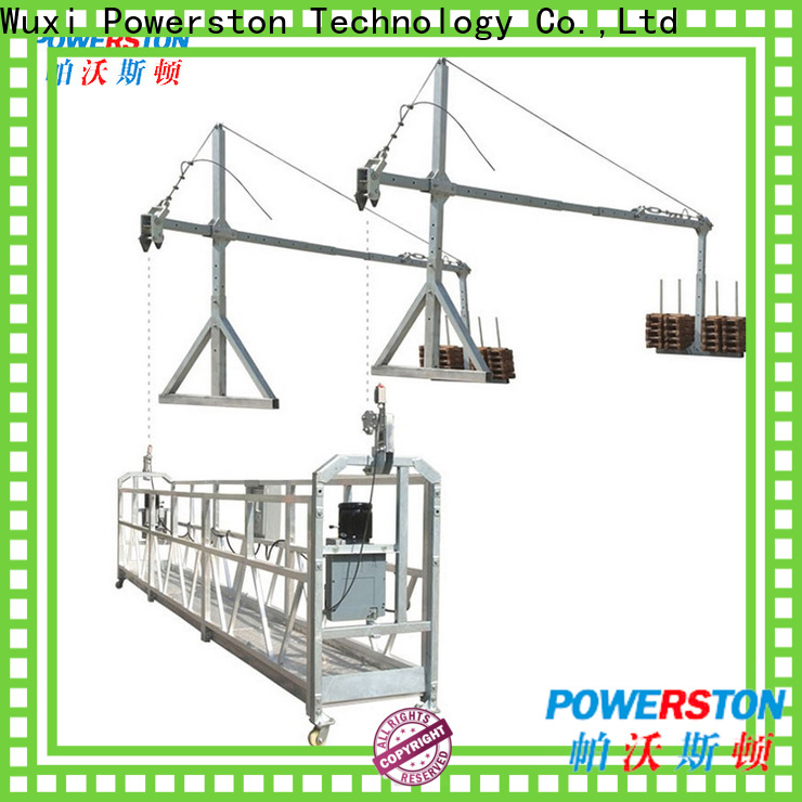 Powerston suspended scaffolding training manufacturers for window cleaning