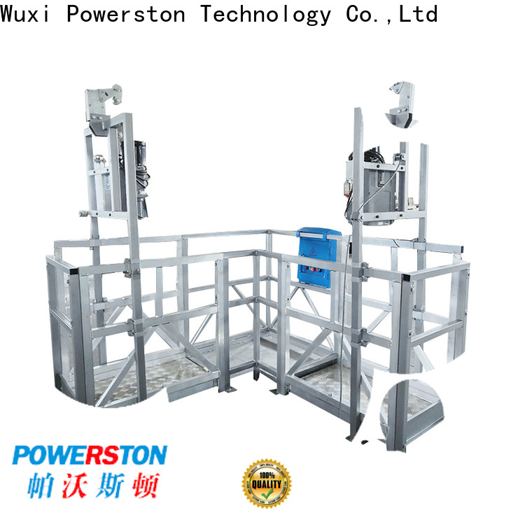 Powerston rise swing stage scaffolding for sale manufacturers for chimney construction