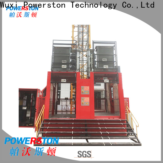 new building hoist lift construction for construction inspection and maintenance