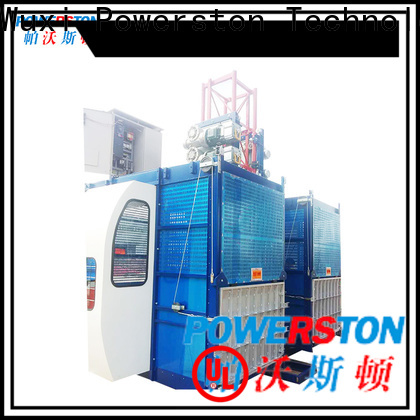 Powerston construction construction hoist for sale supply for high-rise building