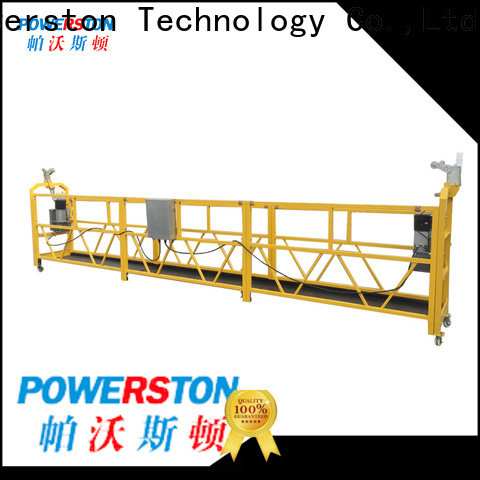 Powerston working hanging scaffolding design company for window cleaning