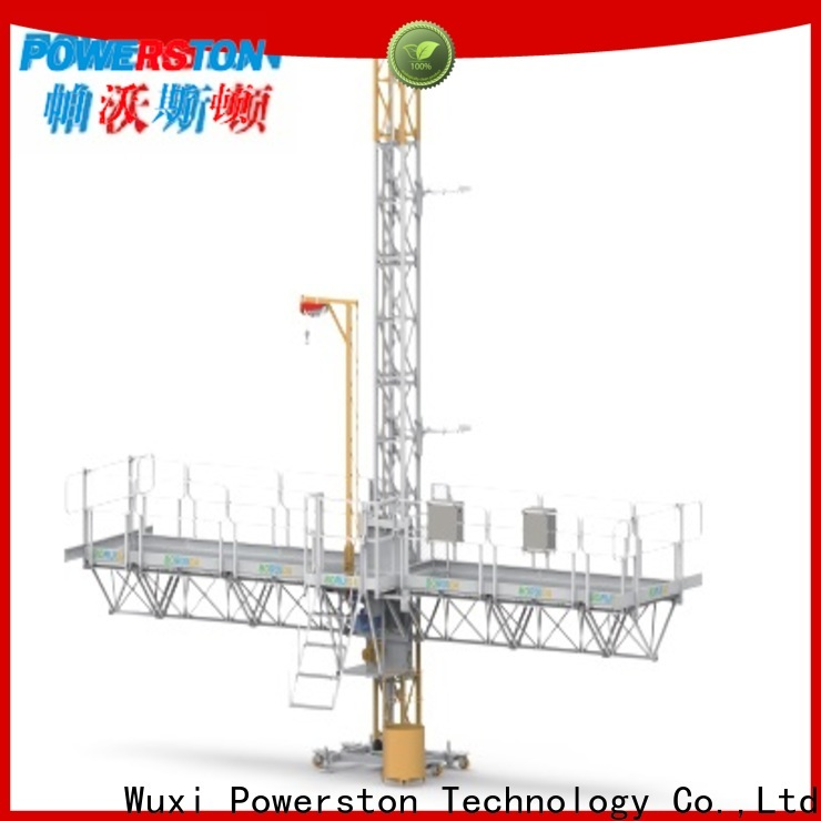 new mast climbing work platform safety company for construction inspection and maintenance
