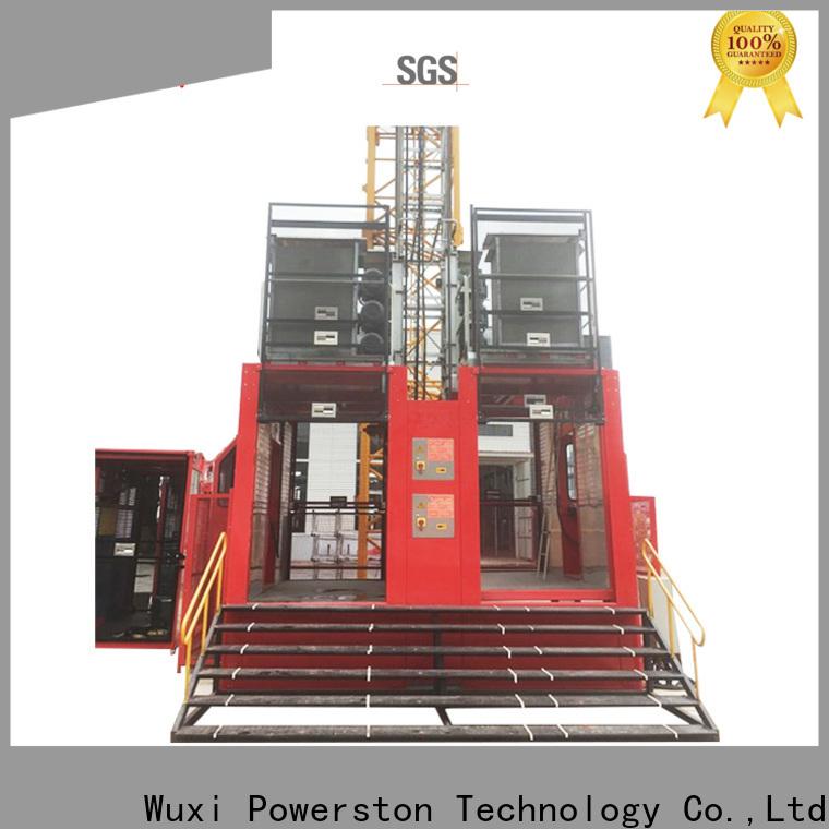 best material hoist lift construction manufacturers for high-rise building