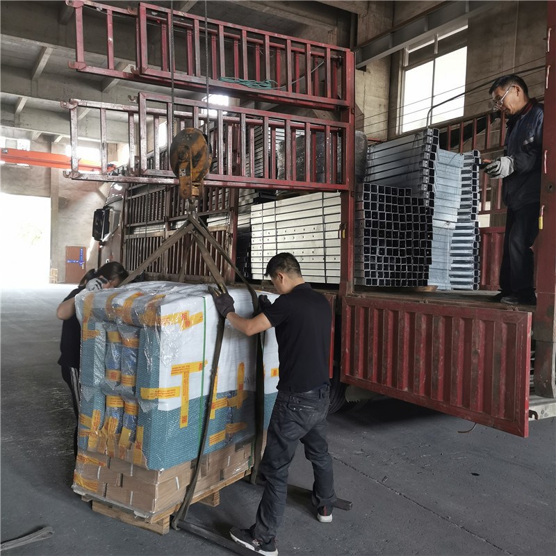 Delivery of 20 Sets Galvanized Suspended Platforms