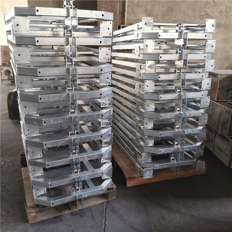 Galvanized Steel Suspended Platforms Deliver