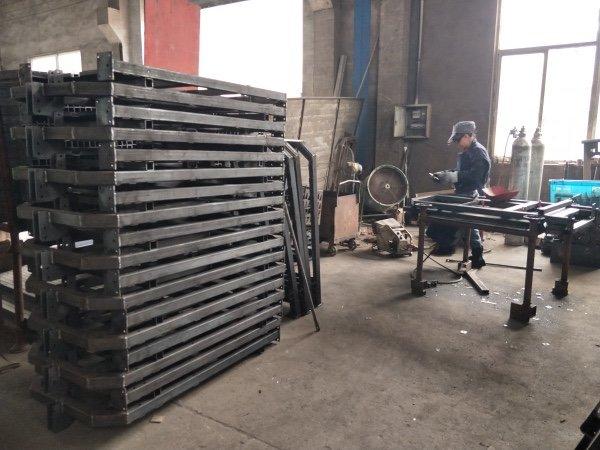 Custom Suspended Scaffold Platform Processing