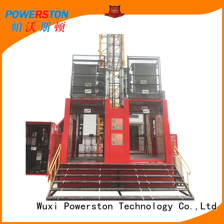 Powerston lift mobile electric hoist for business for chimney construction