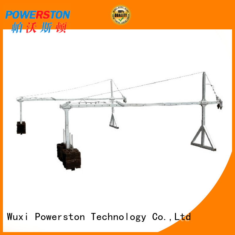 Powerston parapet motorized scaffold for business for chimney construction