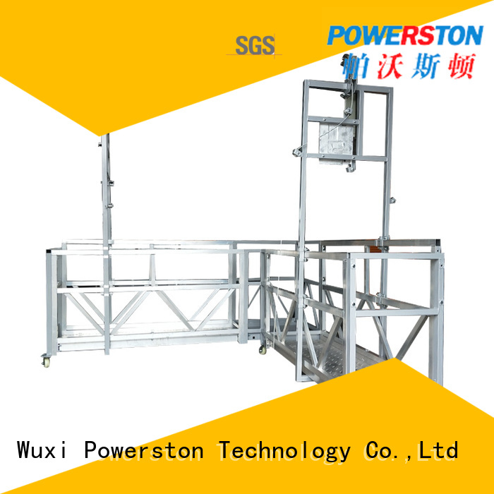 high-quality suspended personnel platform electric supply for construction inspection and maintenance