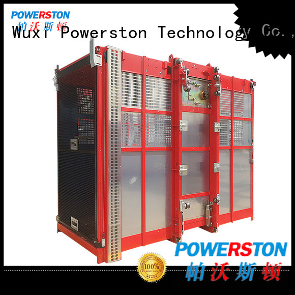 Powerston sc strap hoist suppliers for construction inspection and maintenance