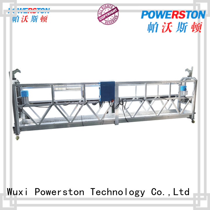 Powerston galvanized working platform regulations company for window cleaning