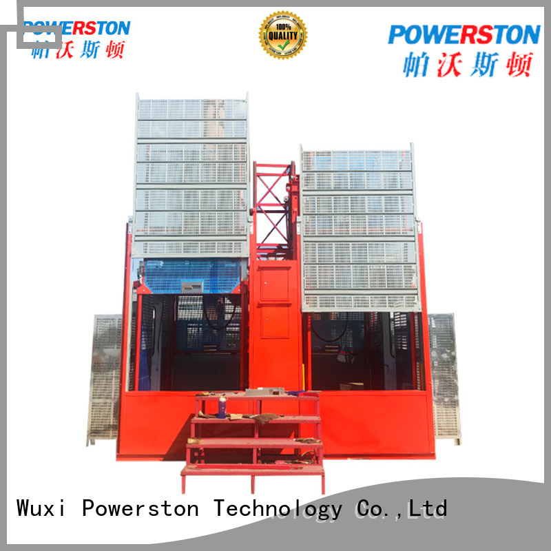 Powerston conversion material hoist construction manufacturers for bridge construction