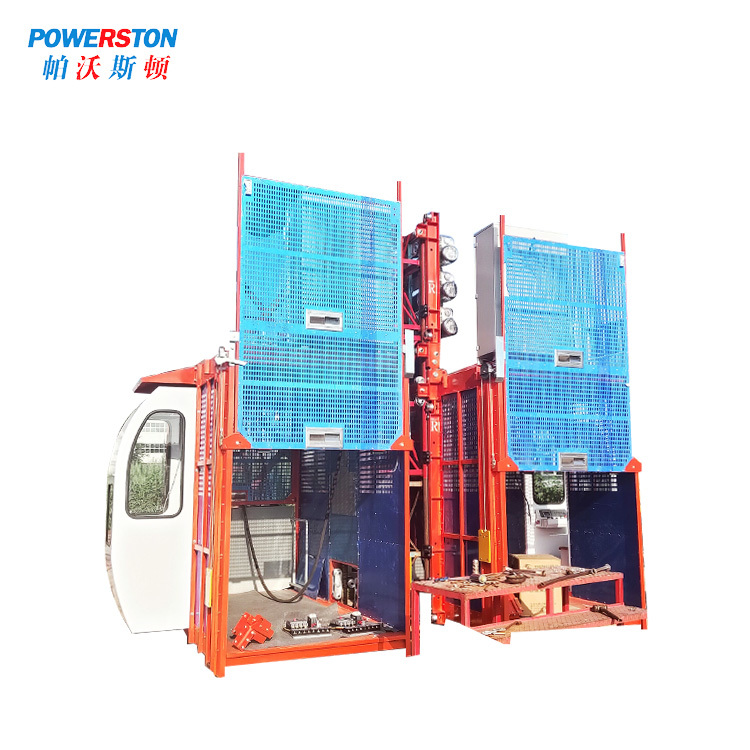 Rack and Pinion Construction Elevator