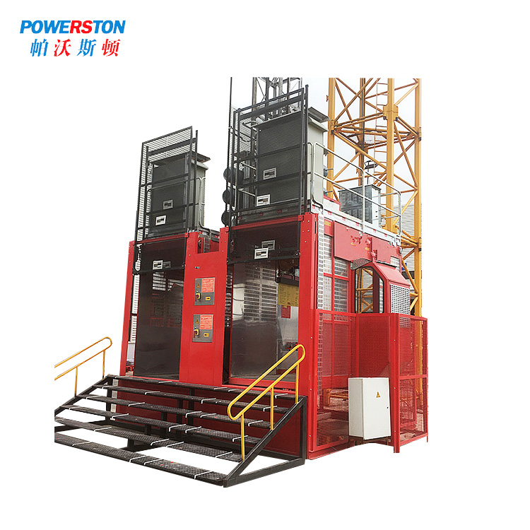 Powerston double hoist sales suppliers for chimney construction-1