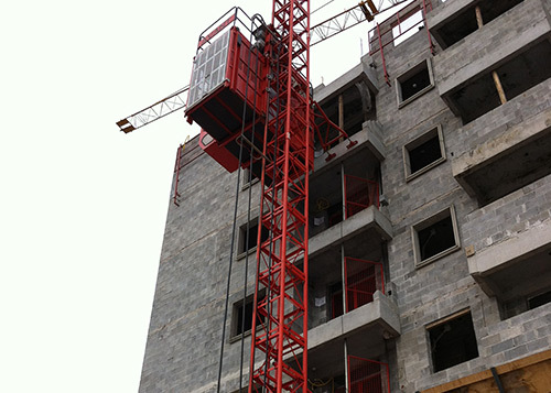 Building Hoist Lift Application