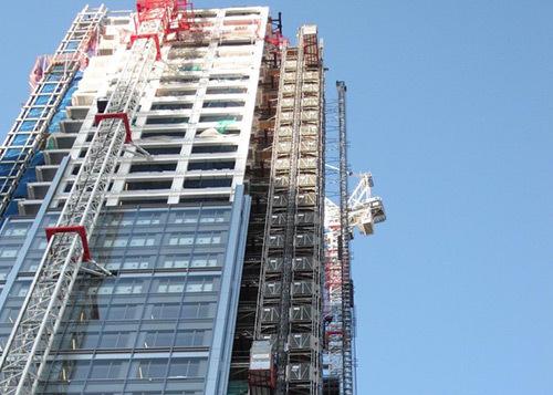 Construction Hoist Elevator Application
