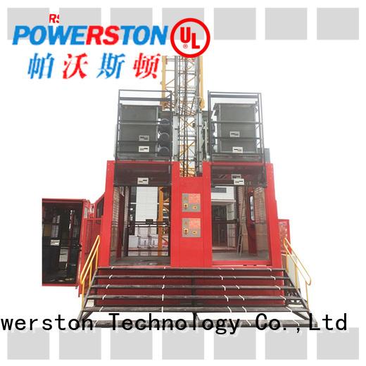 Powerston custom vehicle hoist for business for chimney construction