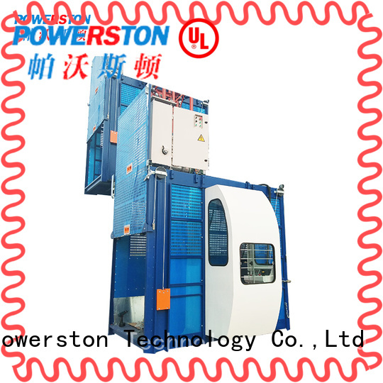 Powerston outdoor mechanical hoist equipment supply for chimney construction