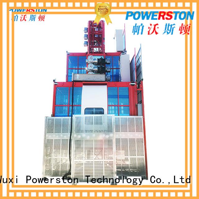 Powerston rack hoist platform factory for window cleaning