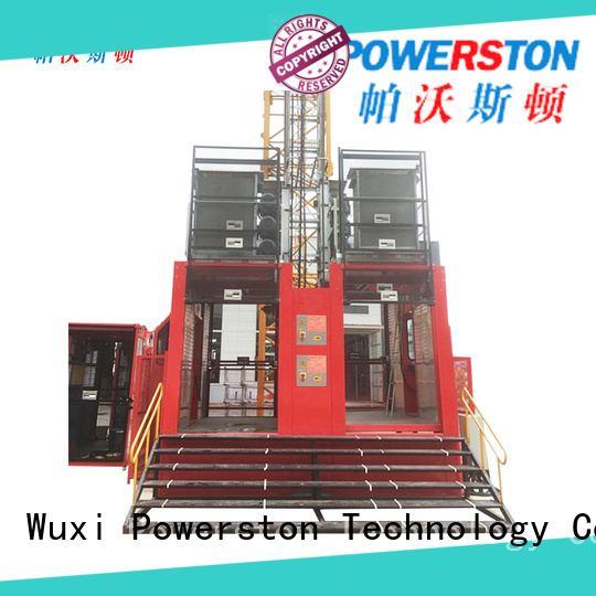 Powerston rack temporary hoist suppliers for window cleaning