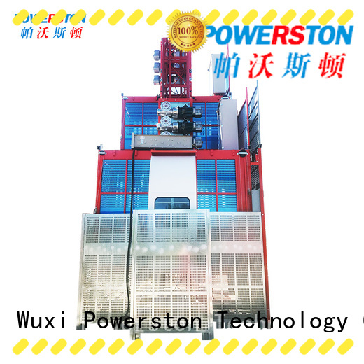 Powerston pinion best electric hoist manufacturers for window cleaning