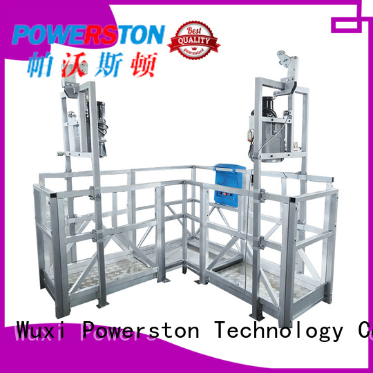 Powerston custom mobile work platform supply for high-rise building