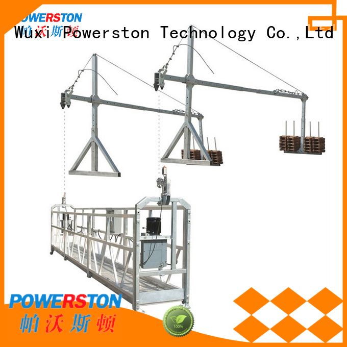 Powerston high-quality swing stage counterweight formula supply for bridge construction