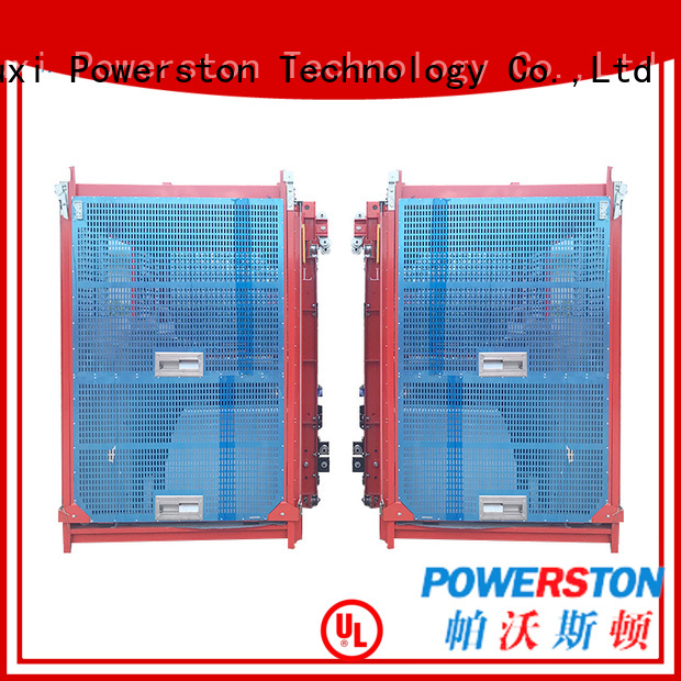 Powerston high-quality floor hoist suppliers for high-rise building