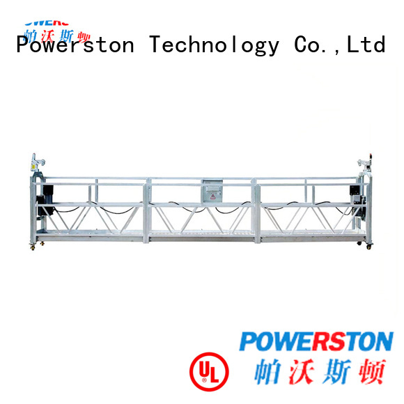 Powerston high-quality rope suspended platform india suppliers for construction inspection and maintenance