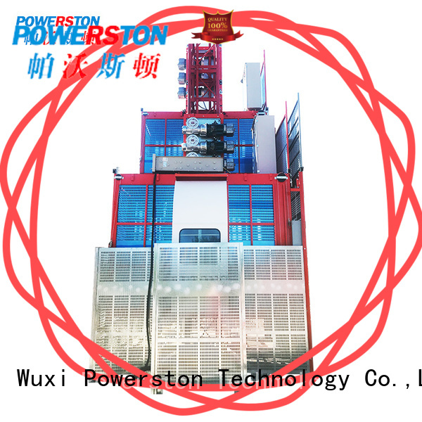 Powerston wholesale material hoist manufacturers company for chimney construction