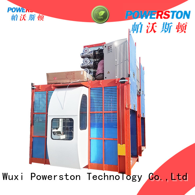 Powerston top construction hoist manufacturers suppliers for window cleaning