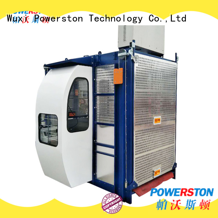 Powerston cage vehicle hoist company for high-rise building