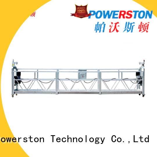Powerston top catenary scaffold supply for high-rise building