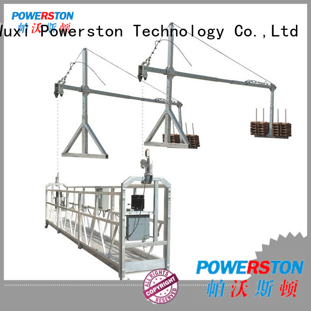 Powerston best window cleaning scaffold suppliers for high-rise building