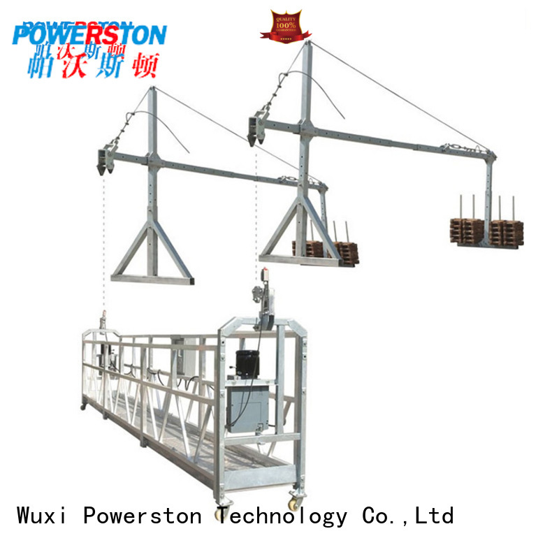 Powerston custom swing stage equipment for business for window cleaning