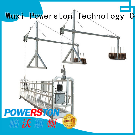 Powerston zlp800 construction swing stage suppliers for chimney construction