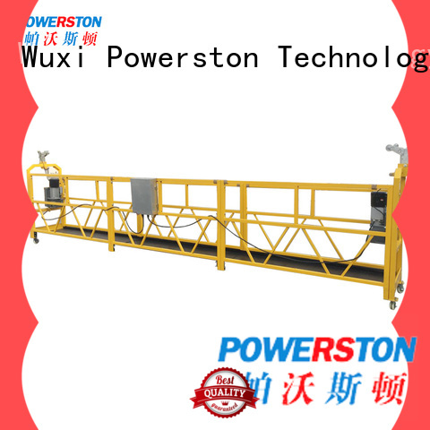 custom rope suspended platform safety hoist suppliers for high-rise building
