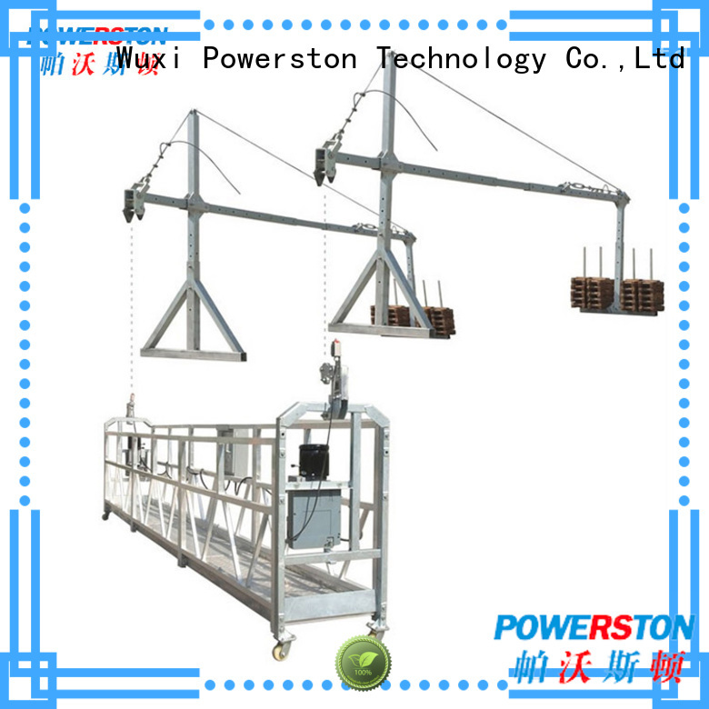 Powerston bridge swing stage scaffolding for sale for business for window cleaning