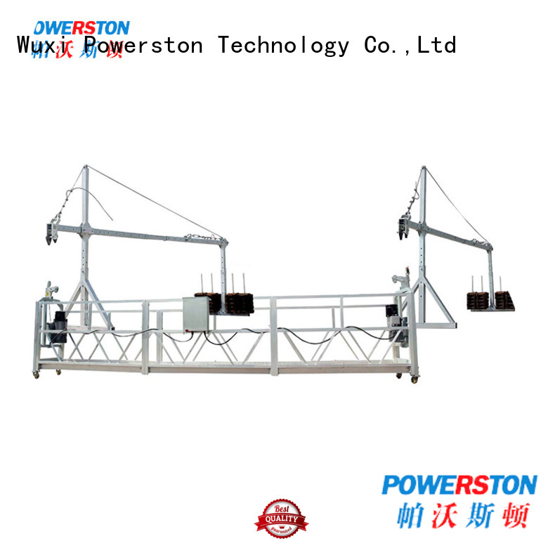 Powerston aluminium suspended swing stage supply for high-rise building