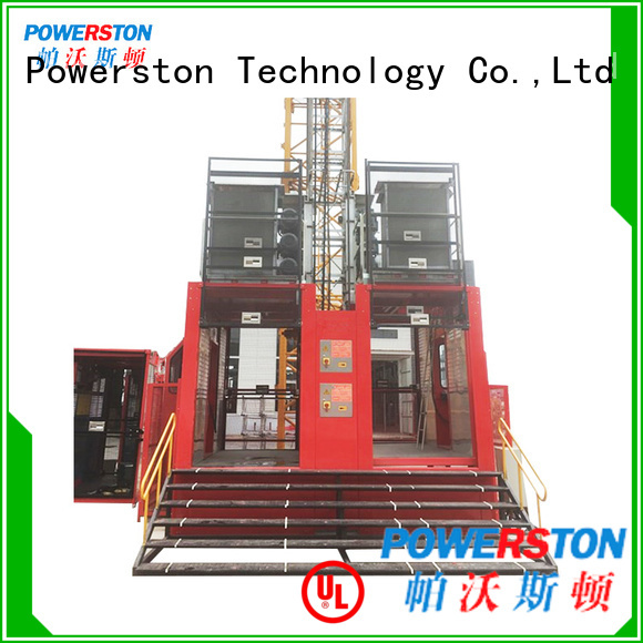 Powerston mast construction lift price suppliers for chimney construction
