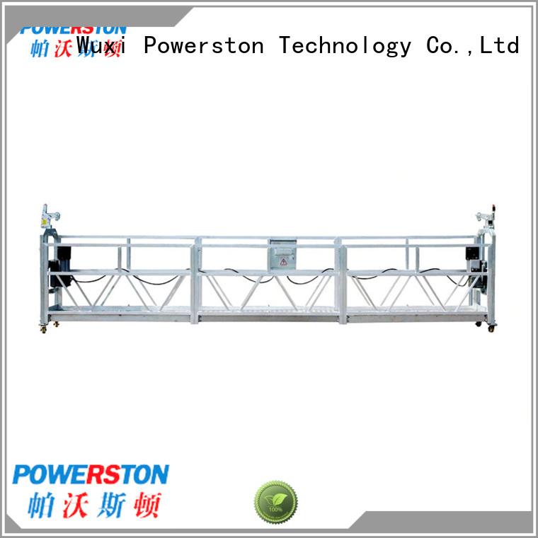 Powerston maintenance gondola working platform supply for bridge construction