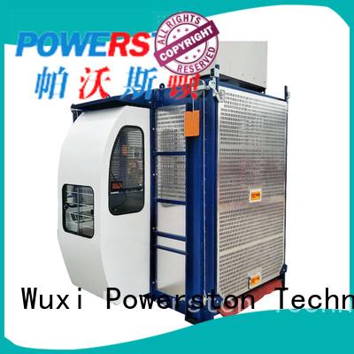 Powerston elevator shop hoist factory for bridge construction
