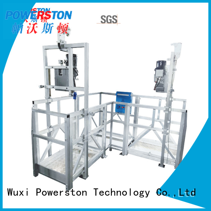 Powerston cleaning steel work platform manufacturers for high-rise building