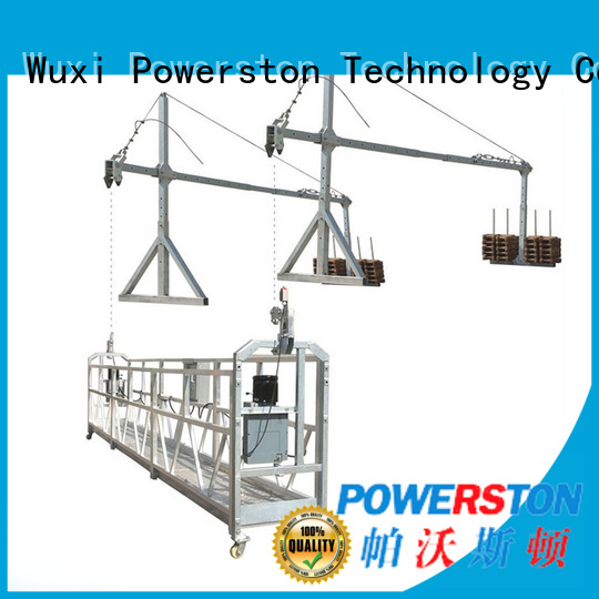Powerston series needle scaffolding for window cleaning